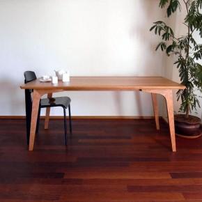 変化するテーブル(アメリカンチェリー)