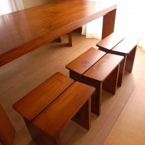 テーブル・ベンチ・スツールセット